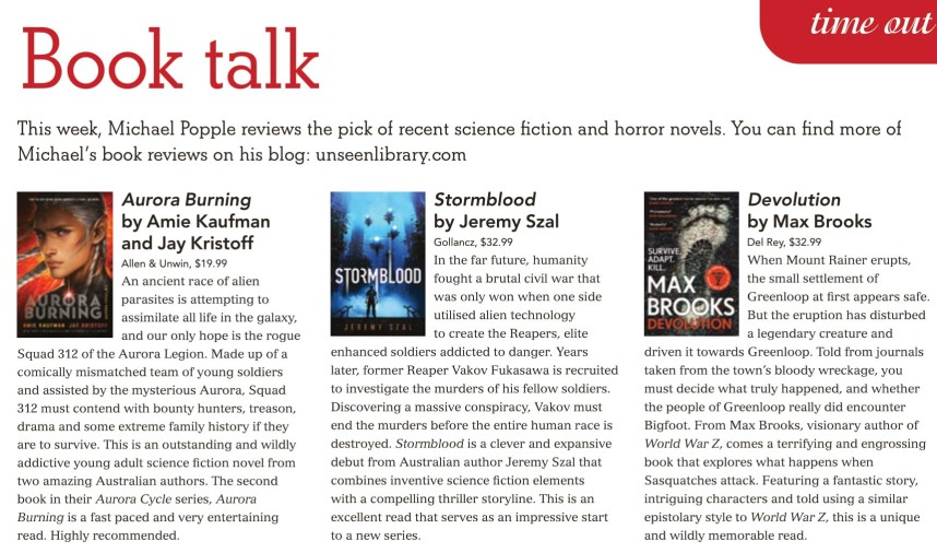 Canberra Weekly Column - Science Fiction - 25 June 2020 (Cropped)