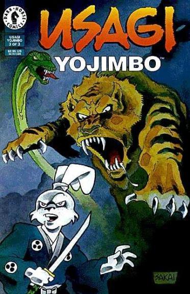 Usagi Yojimbo Dark Horse #3