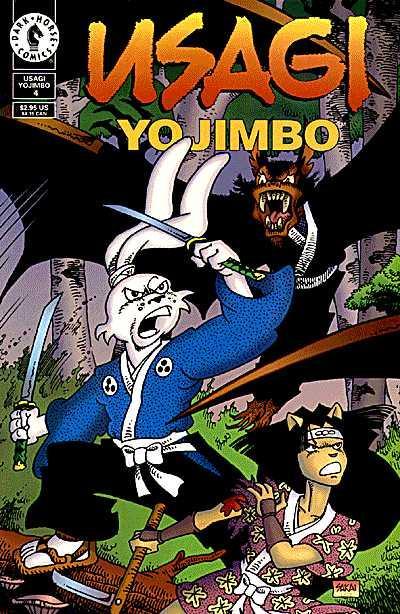 Usagi Yojimbo Dark Horse #4