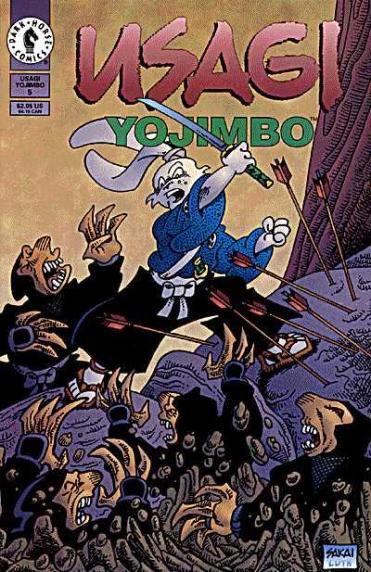 Usagi Yojimbo Dark Horse #5