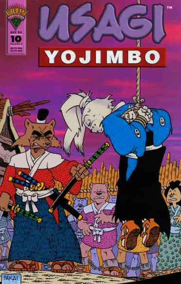 Usagi Yojimbo Mirage - 10