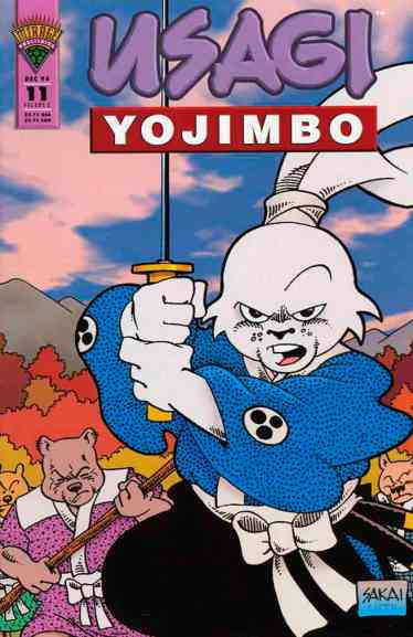 Usagi Yojimbo Mirage - 11