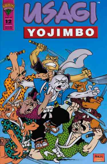 Usagi Yojimbo Mirage - 12
