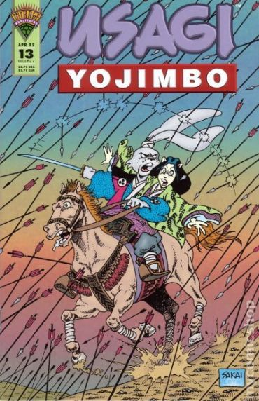 Usagi Yojimbo Mirage - 13