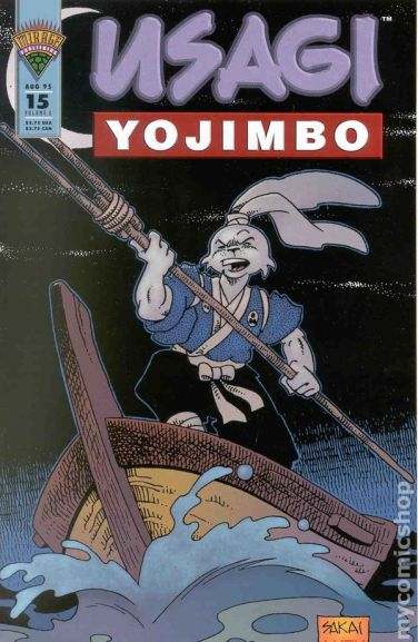 Usagi Yojimbo Mirage 15