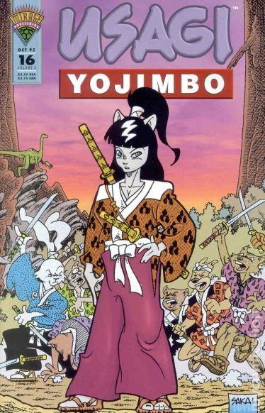 Usagi Yojimbo Mirage - 16
