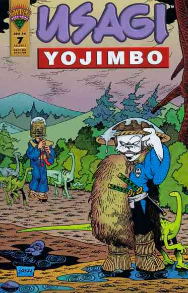 Usagi Yojimbo Mirage - #7