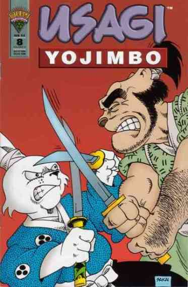 Usagi Yojimbo Mirage - 8