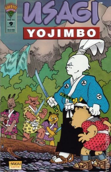 Usagi Yojimbo Mirage - 9