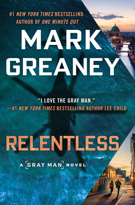Relentless Mark Greaney Cover
