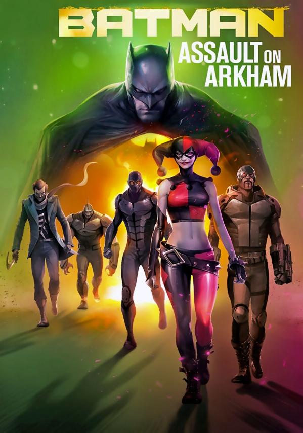 Assault on Arkham Poster