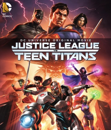 Justice League vs Teen Titans Poster