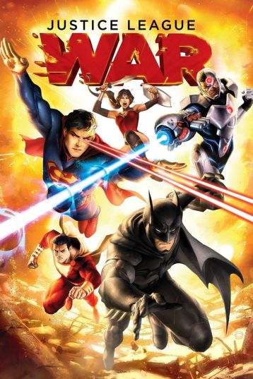 Justice League War Poster
