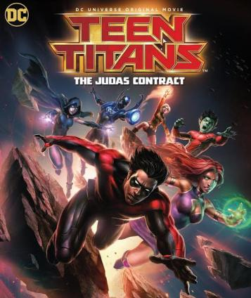 Teen Titans The Judas Contract Poster