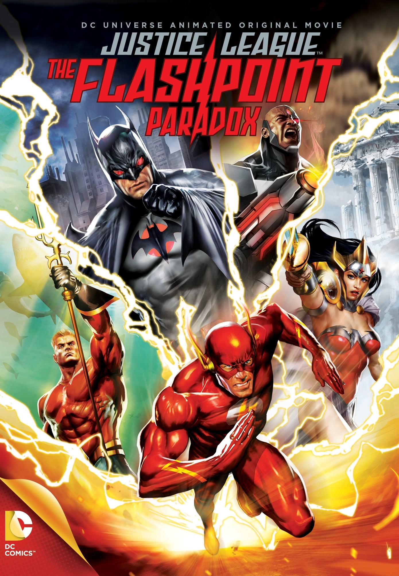 The Flashpoint Paradox Poster