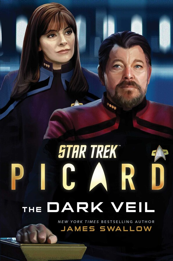 Star Trek Picard The Dark Veil Cover