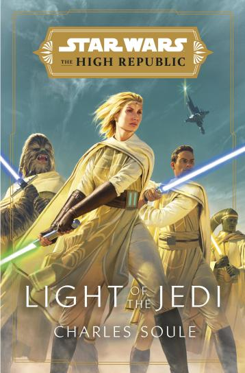 Star Wars - Light of the Jedi Cover