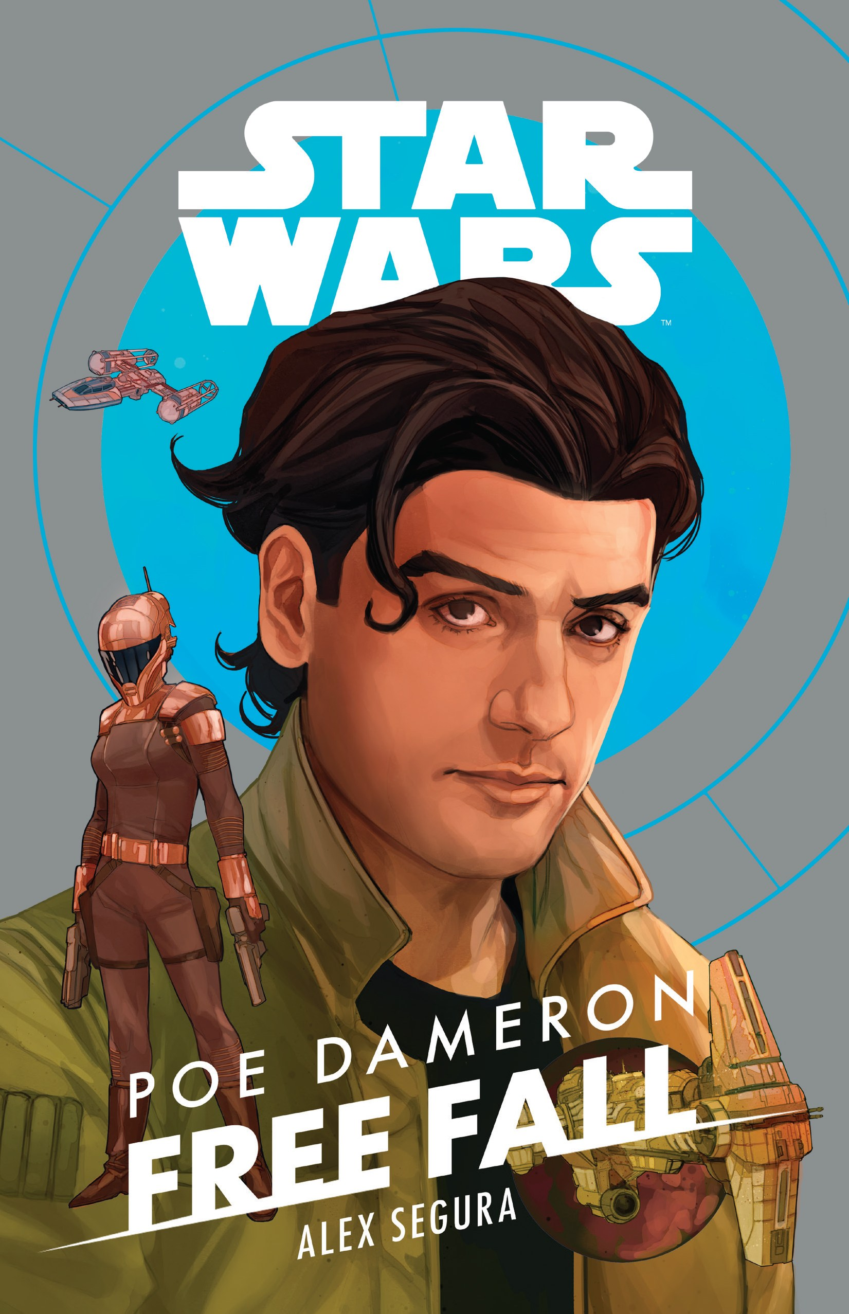 Star Wars Poe Dameron Free Fall Cover