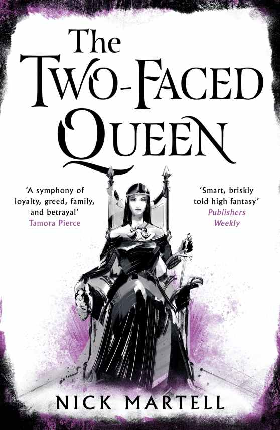 The Two-Faced Queen Cover