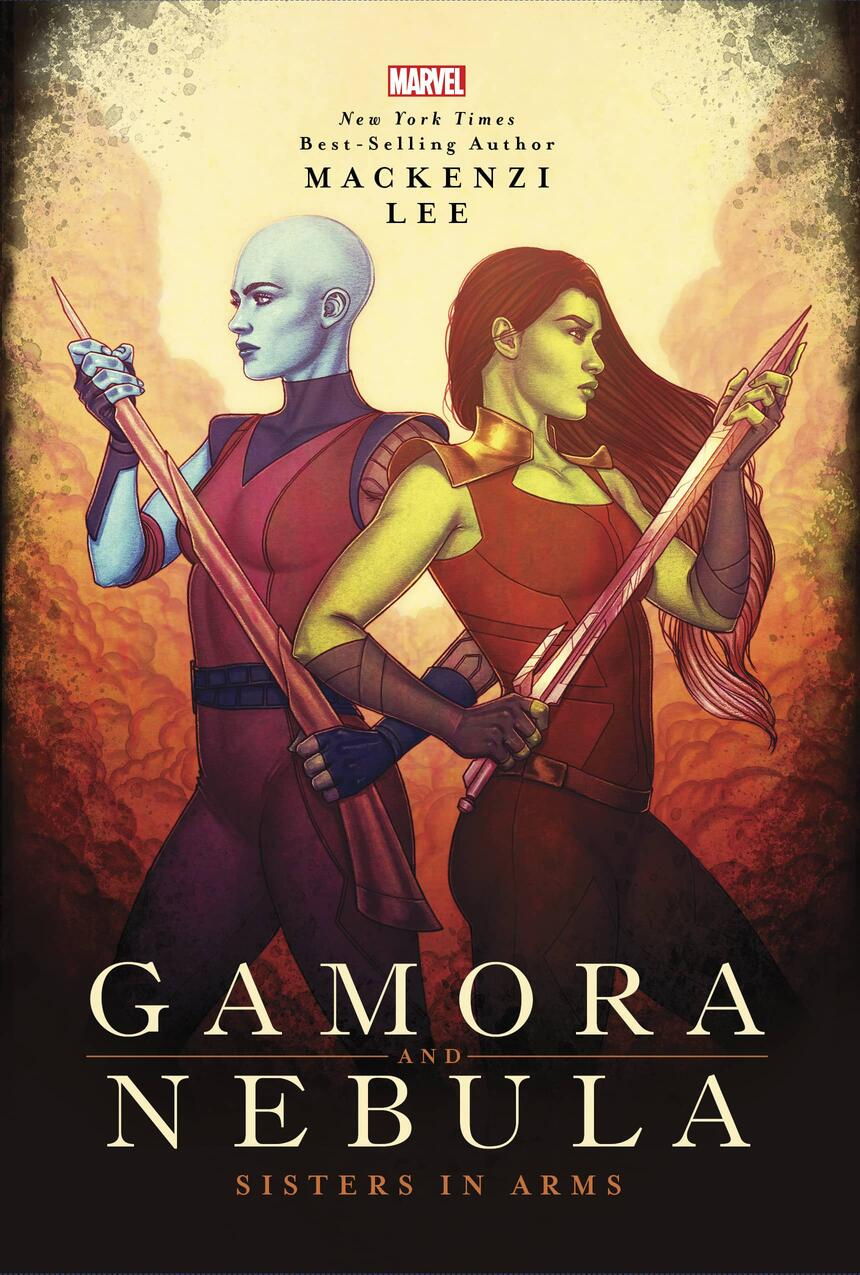 Gamora and Nebula - Sisters in Arms Cover