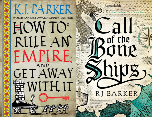 How to Rule an Empire and Get Away With It and Call of the Bone Ships Covers
