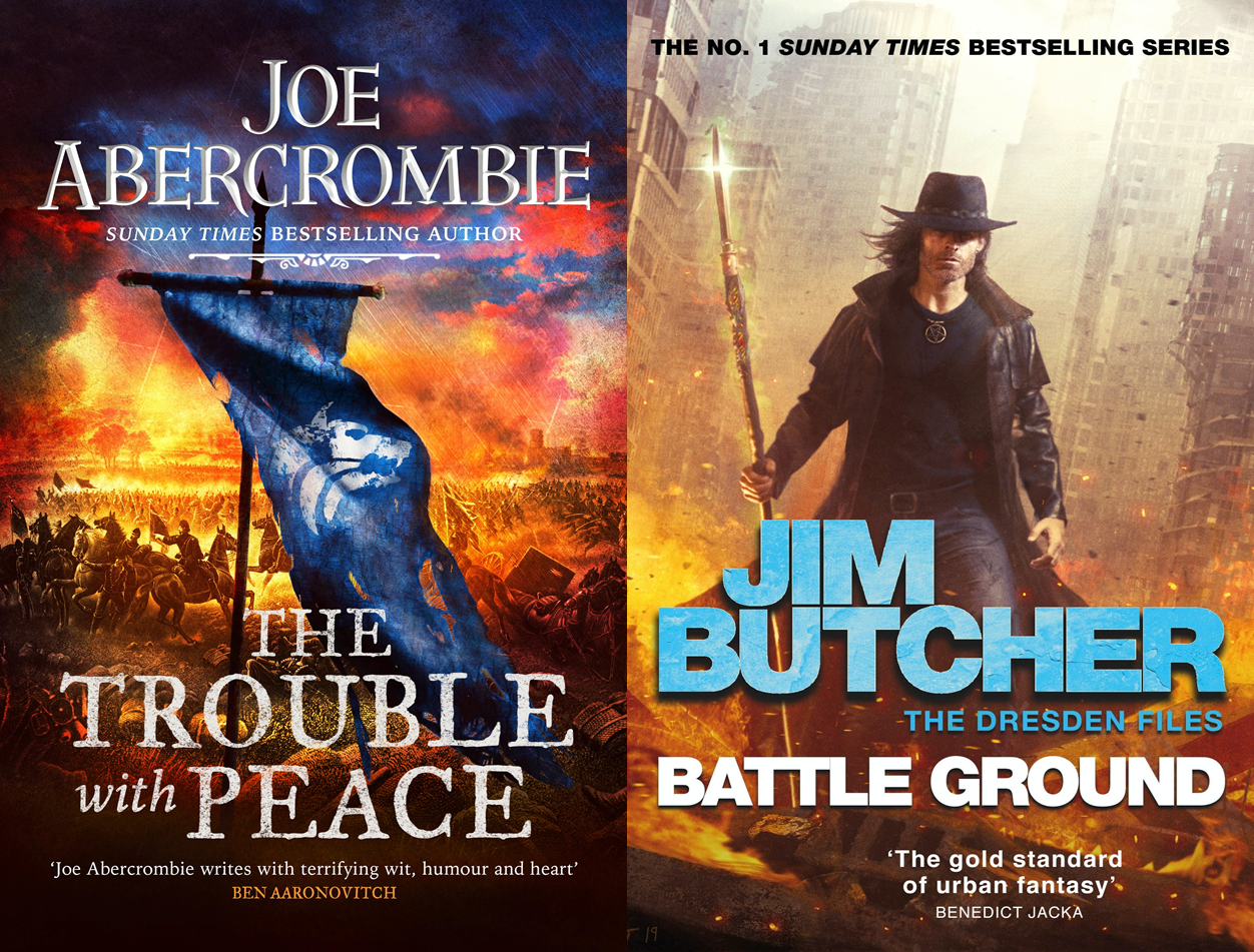 Trouble with Peace and Battle Ground Cover