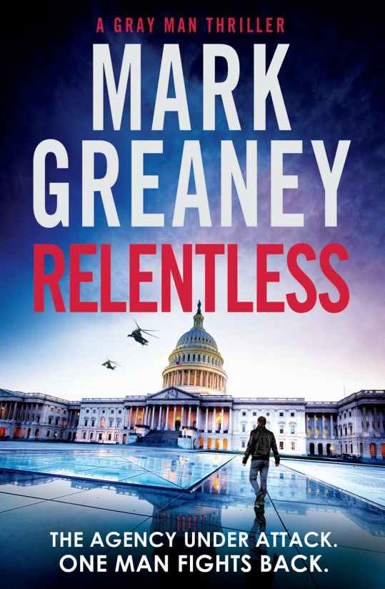 Relentless by Mark Greaney Cover