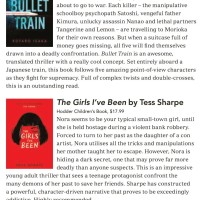 Canberra Weekly Column - Thrillers - 18 March 2021