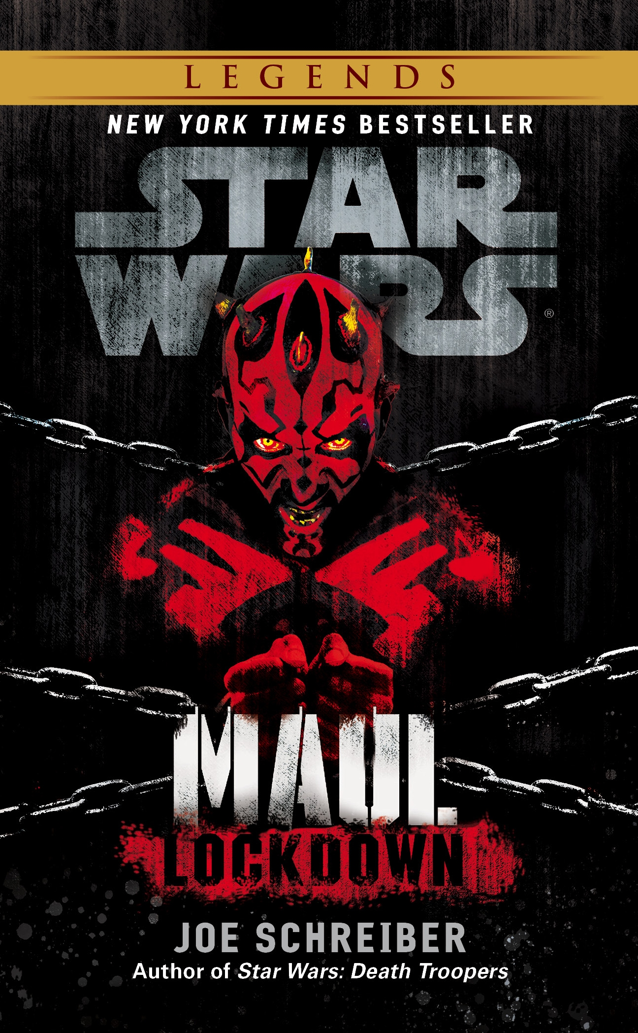 Star Wars - Maul - Lockdown Cover