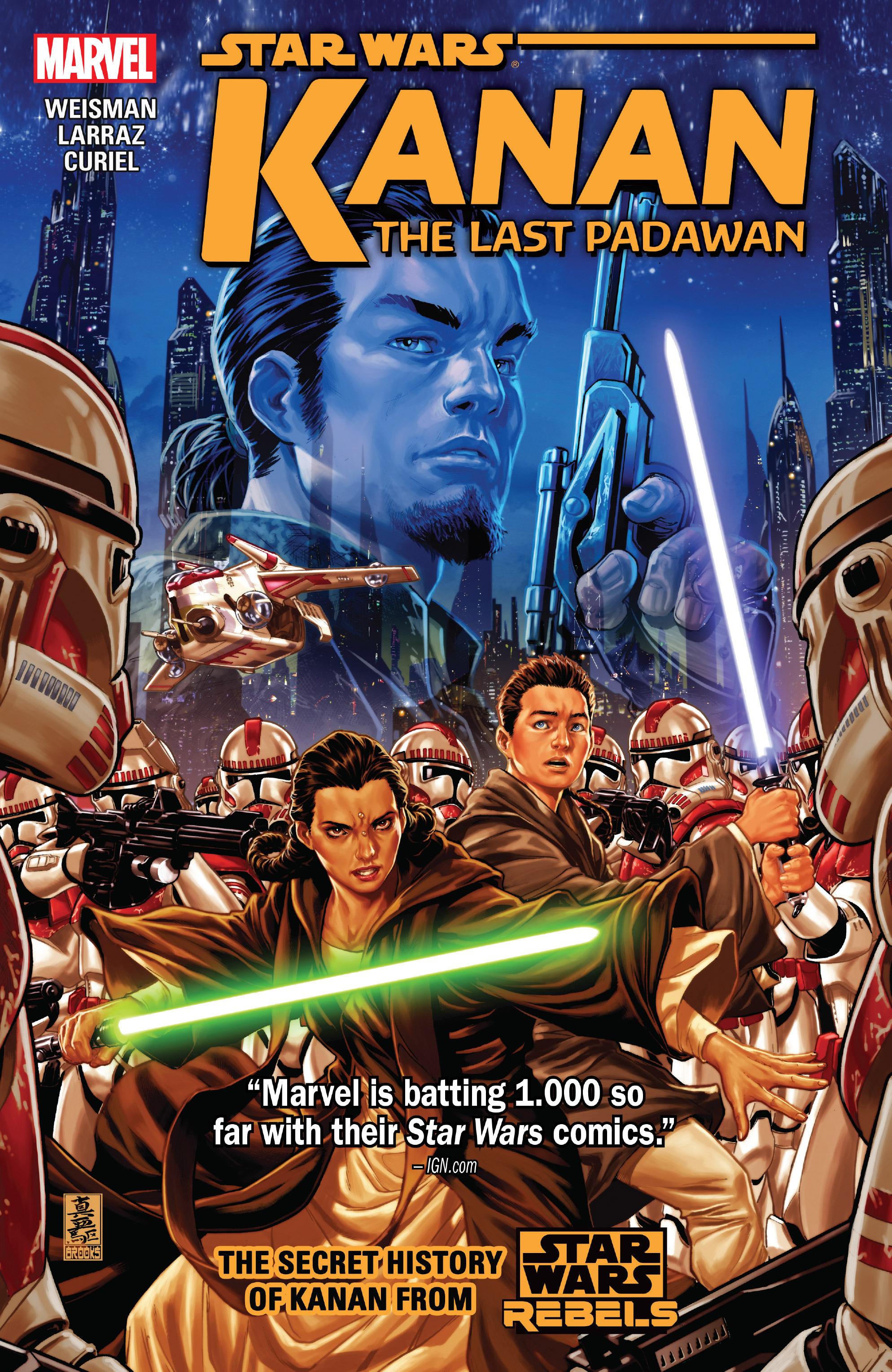 Star Wars - Kanan Cover