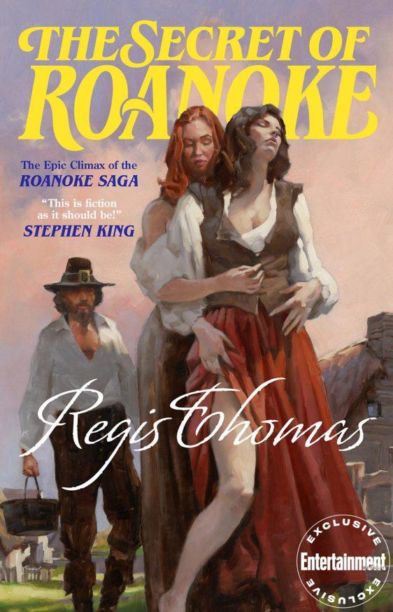 The Secret of Roanoke Cover