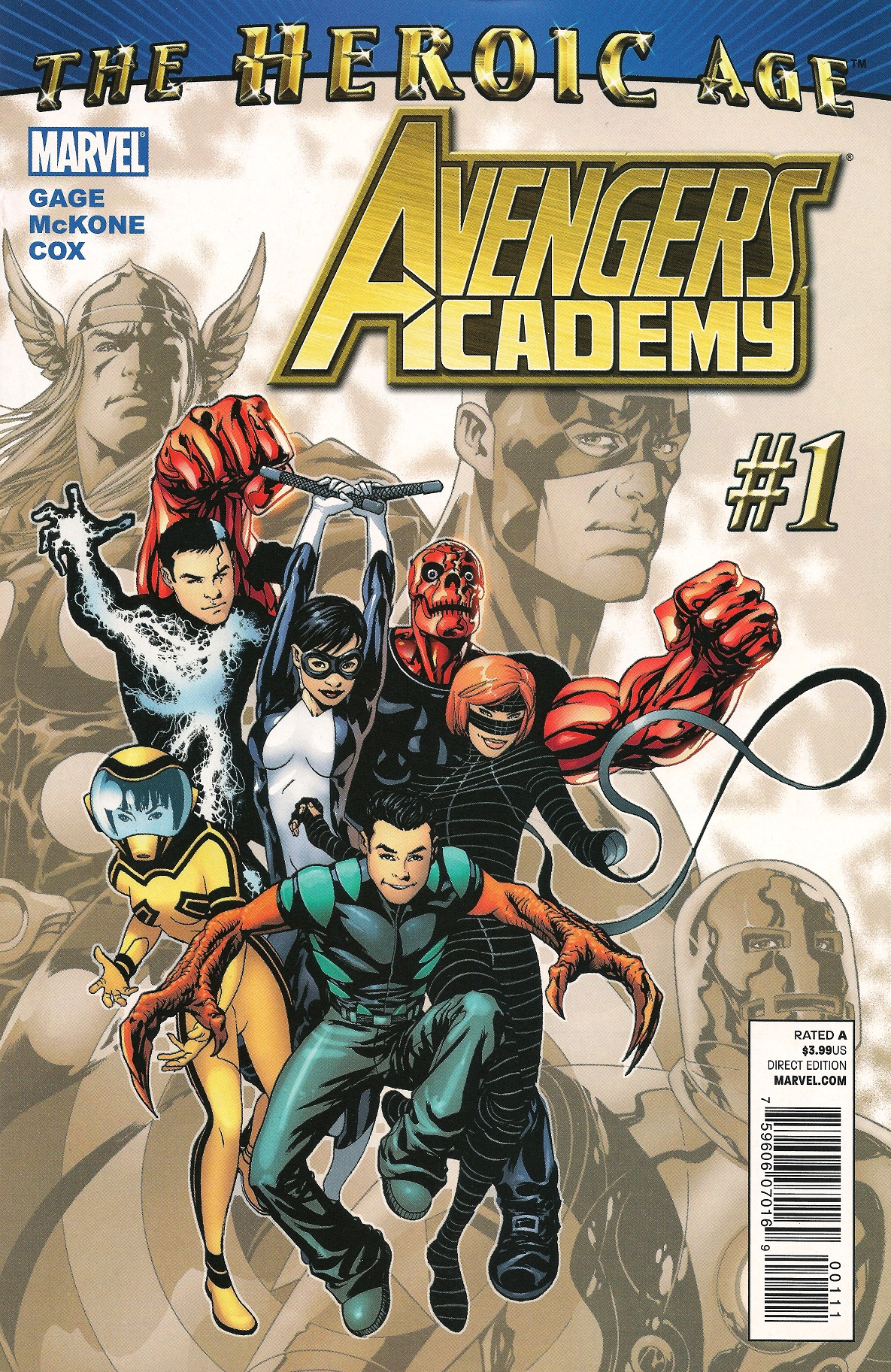 Avengers Academy 1 Cover