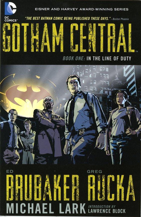 Gotham Central 1 Cover