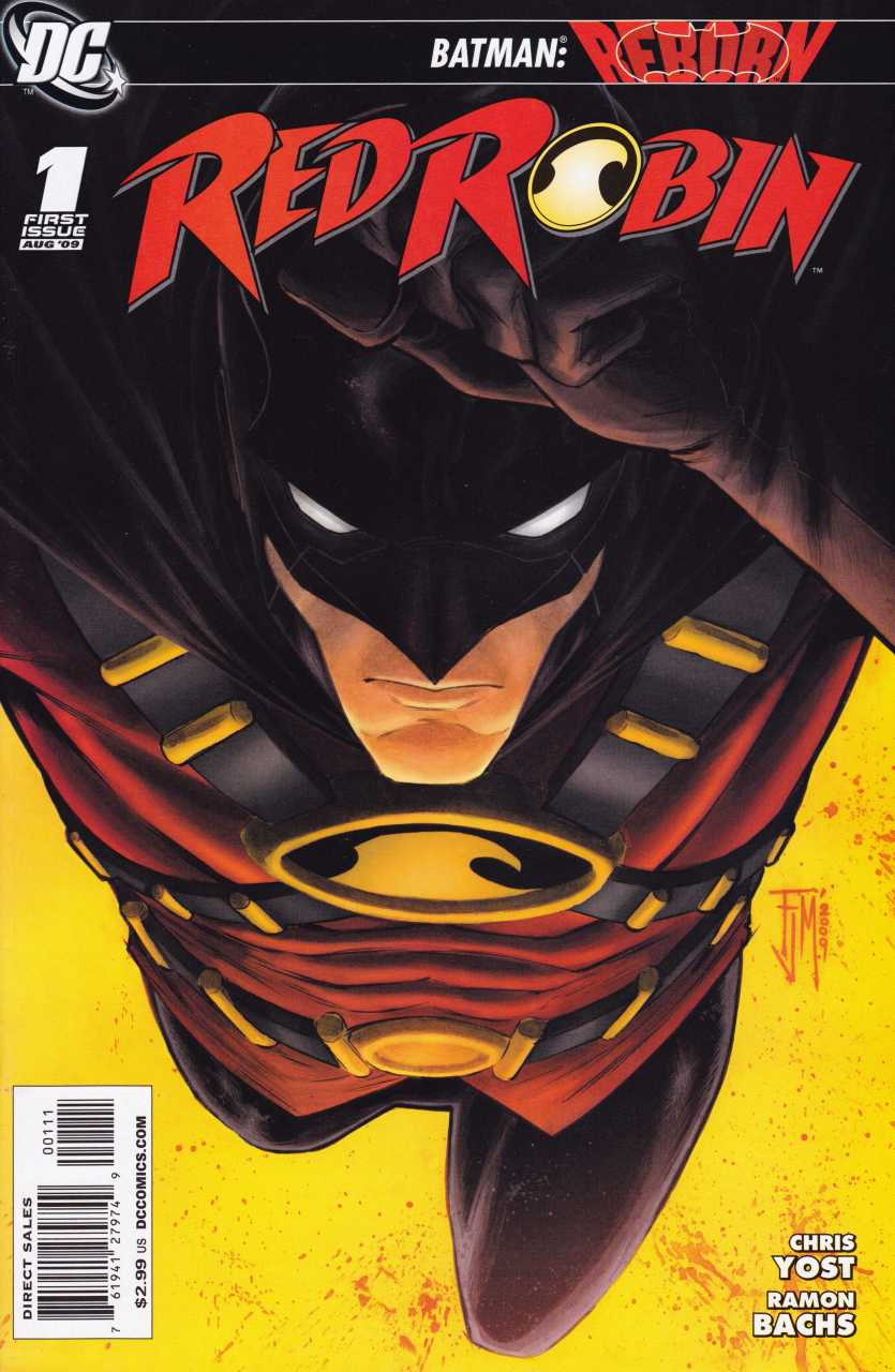 Red Robin 1 Cover