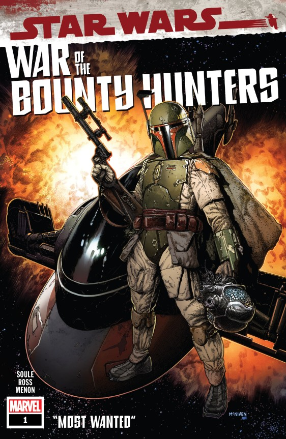 Star Wars - War of the Bounty Hunters #! Cover