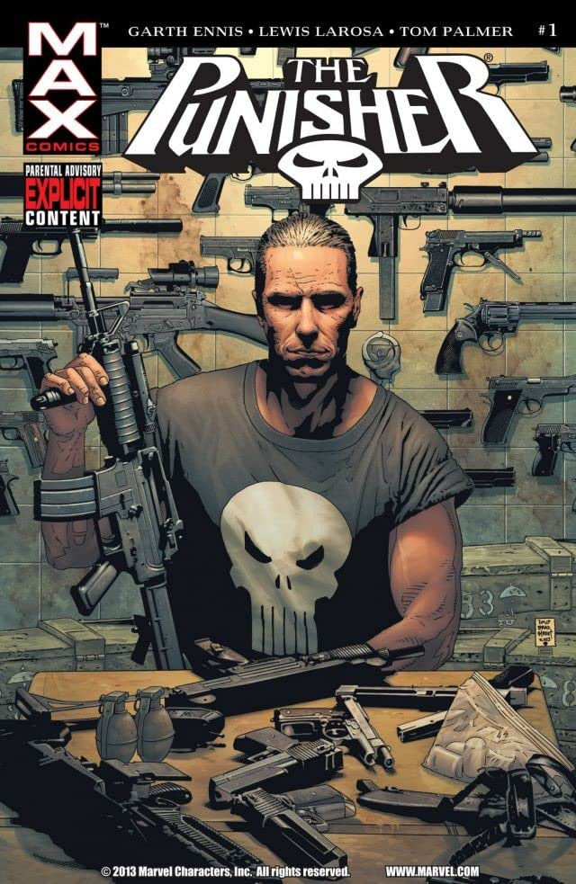 The Punisher Cover