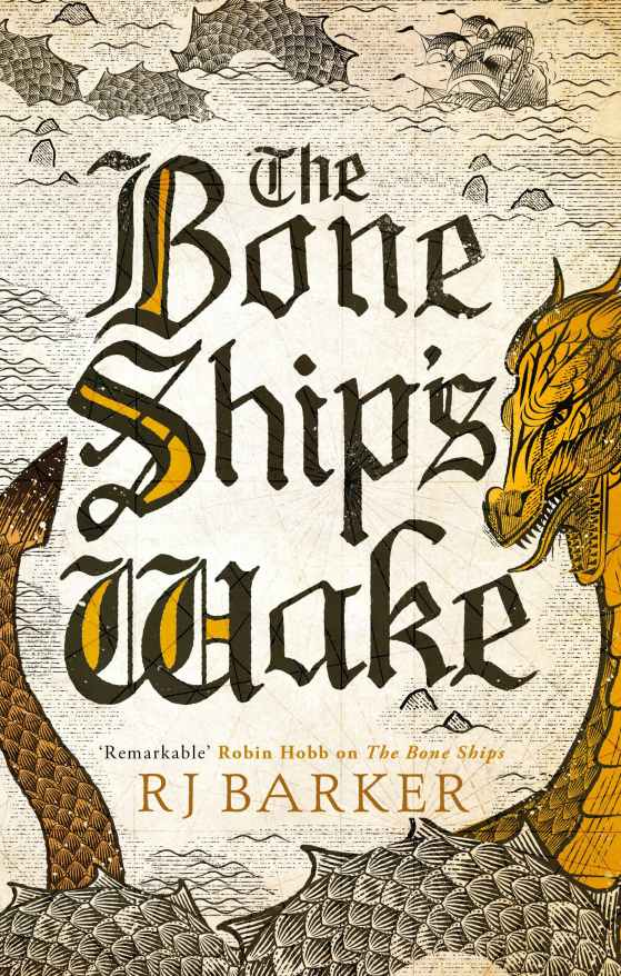 The Bone Ship's Wake Cover