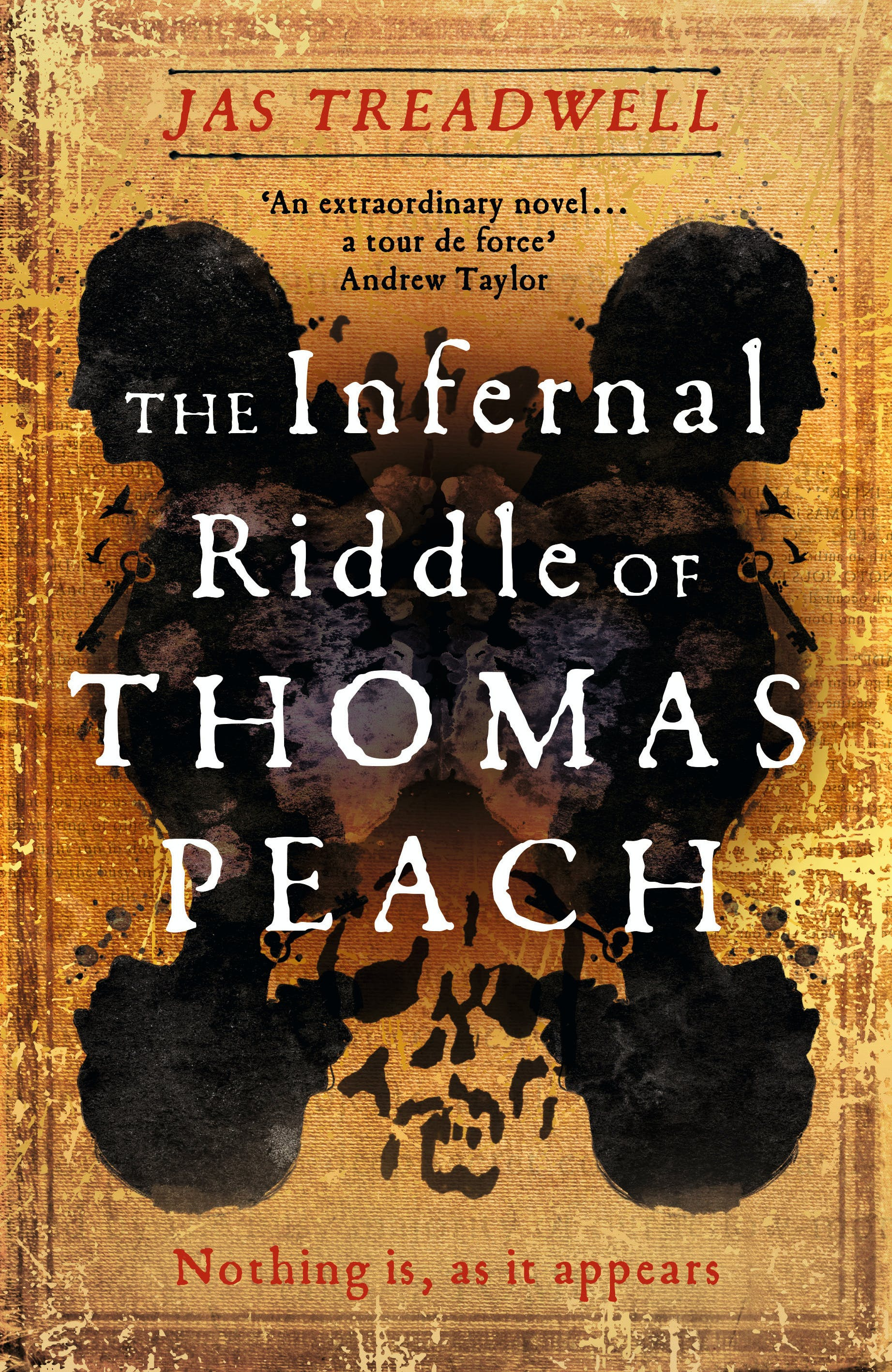 The Infernal Riddle of Thomas Peach Cover