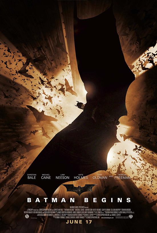 Batman Begins Cover