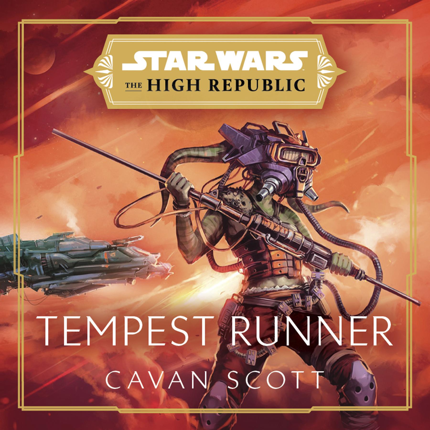 Star Wars - Tempest Runner Cover