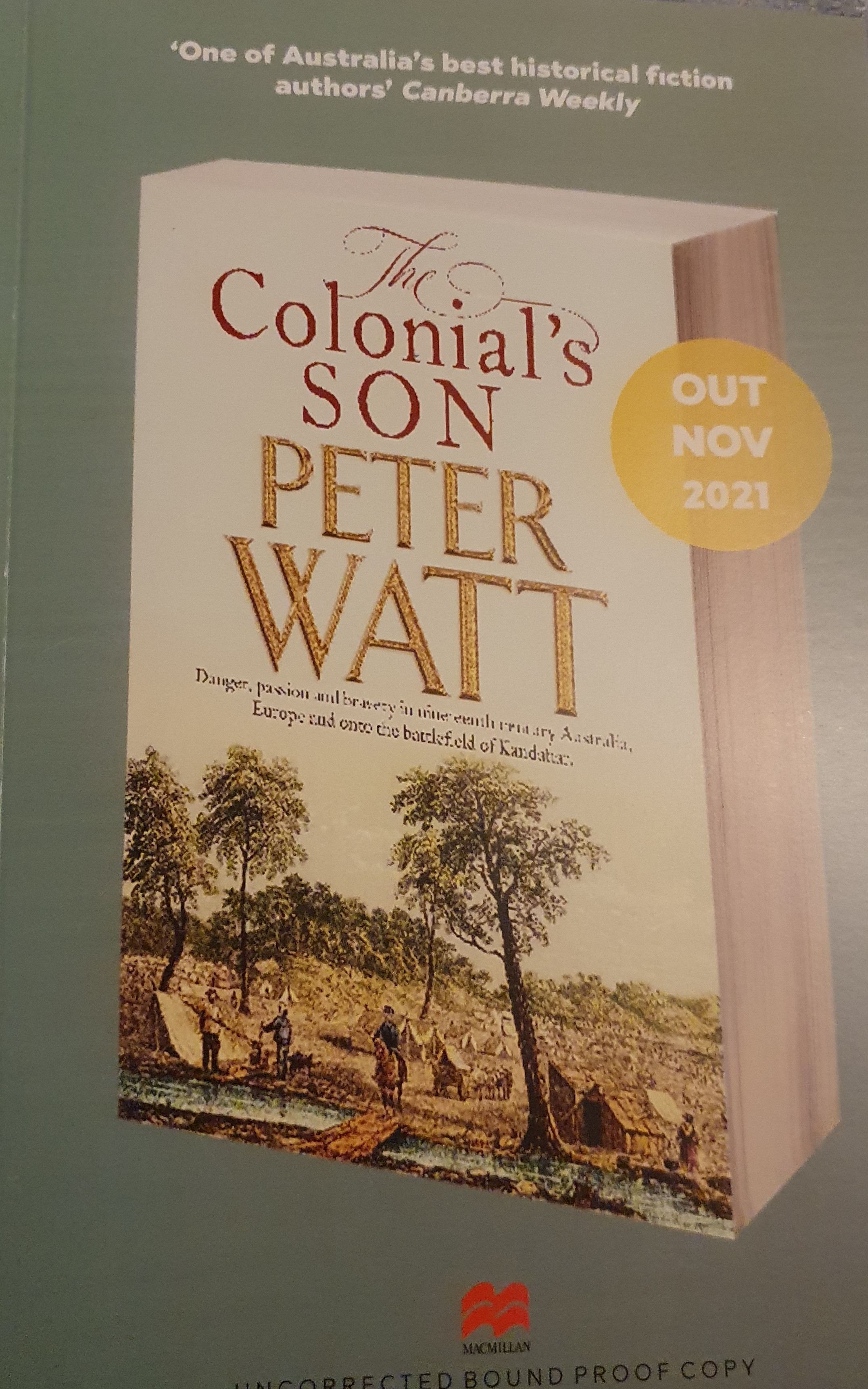 The Colonial's Son Front
