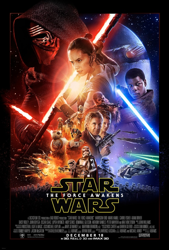 The Force Awakens Poster