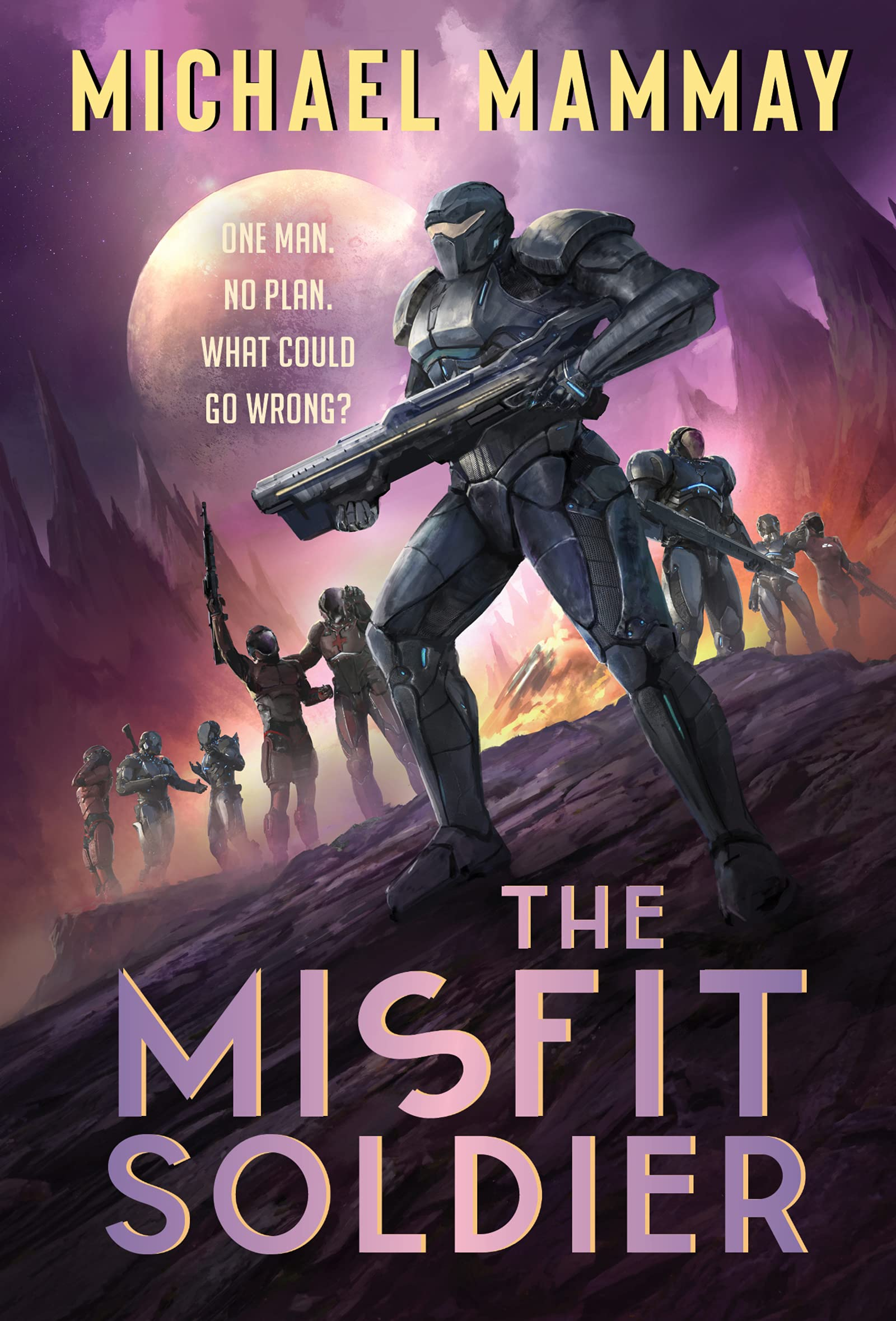 The Misfit Soldier Cover