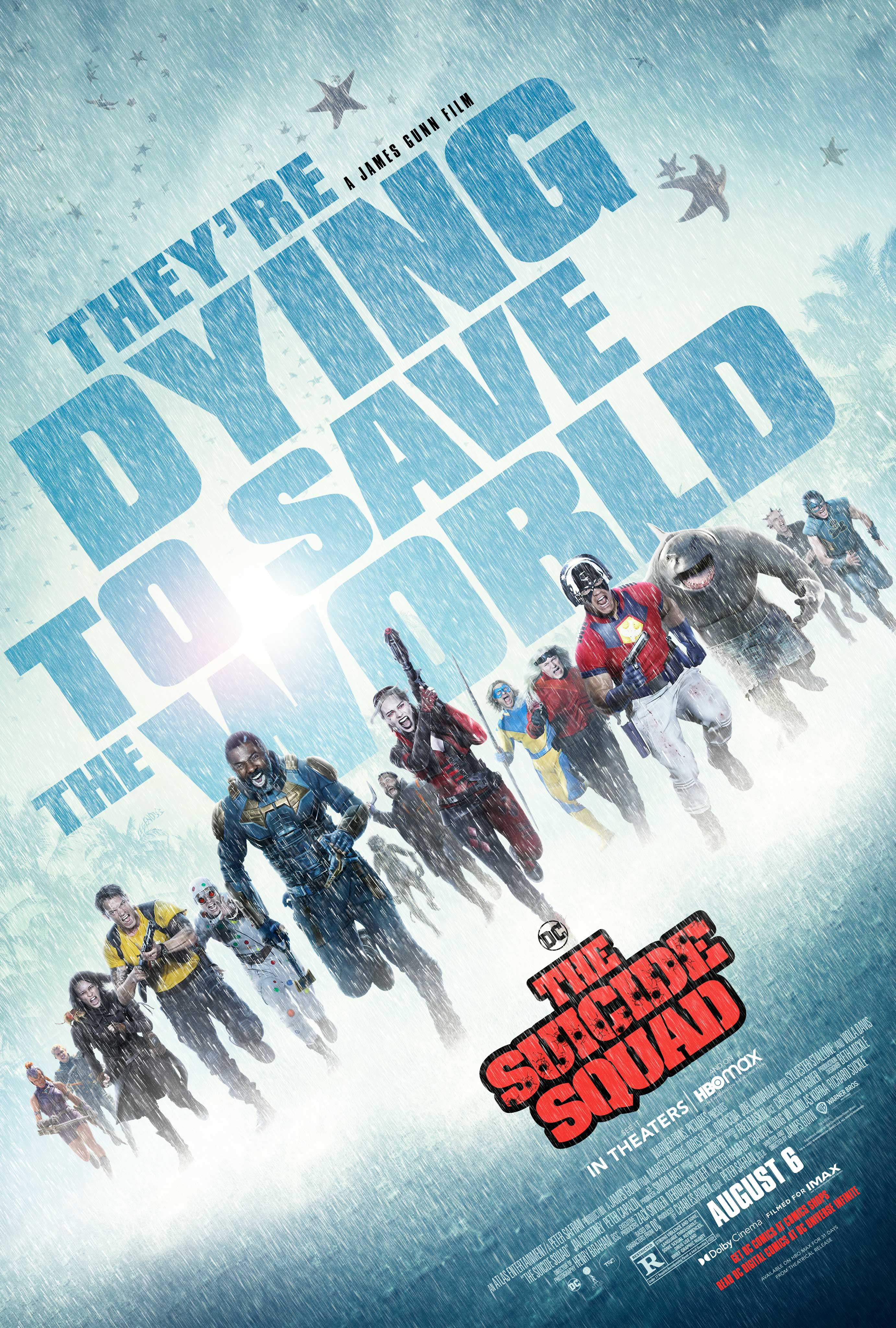 The Suicide Squad Cover