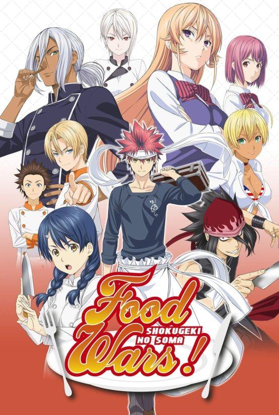 Food Wars! Poster