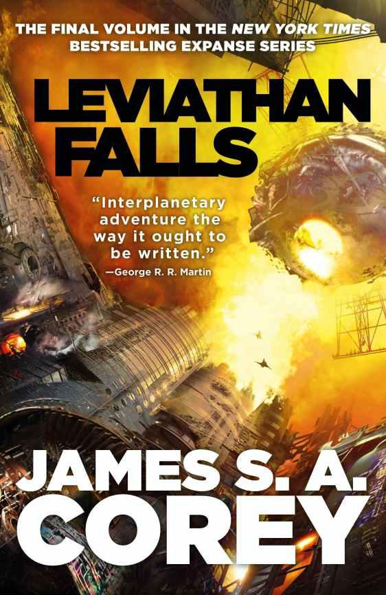 Leviathan Falls Cover