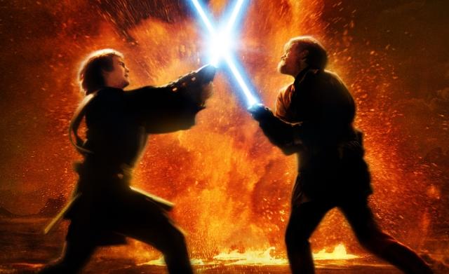 Anakin vs Kenobi
