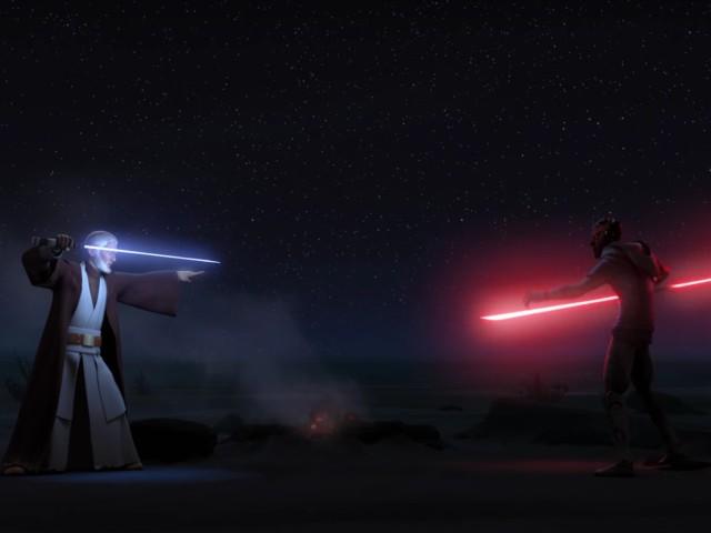 Kenobi vs Maul